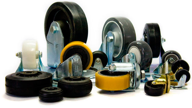 Rodas e rodízios: características e aplicações
